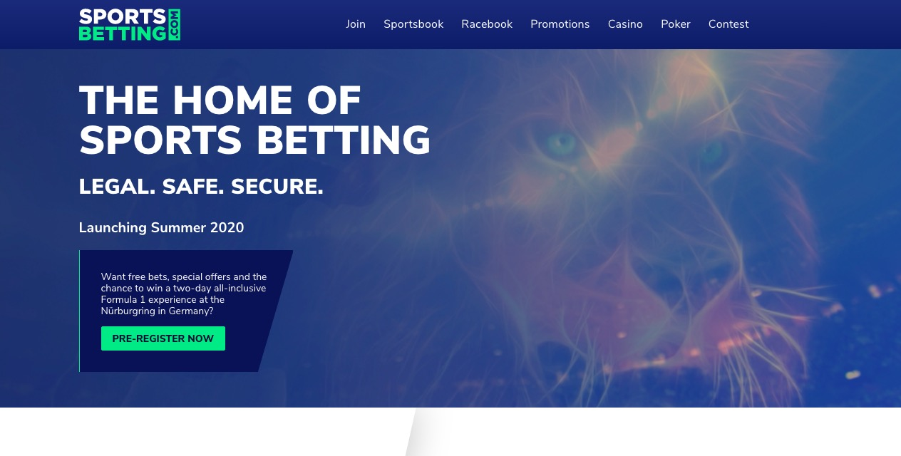 SportsBetting main page