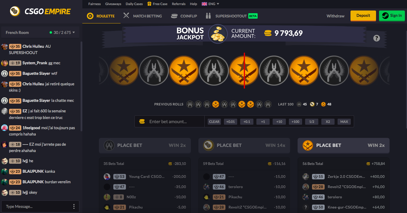 csgo betting CSGOEmpire